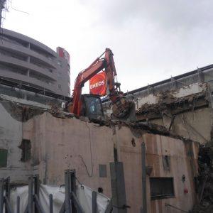 大和ビル解体工事