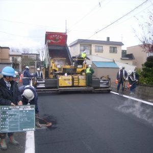 アスファルト舗装工 (1)